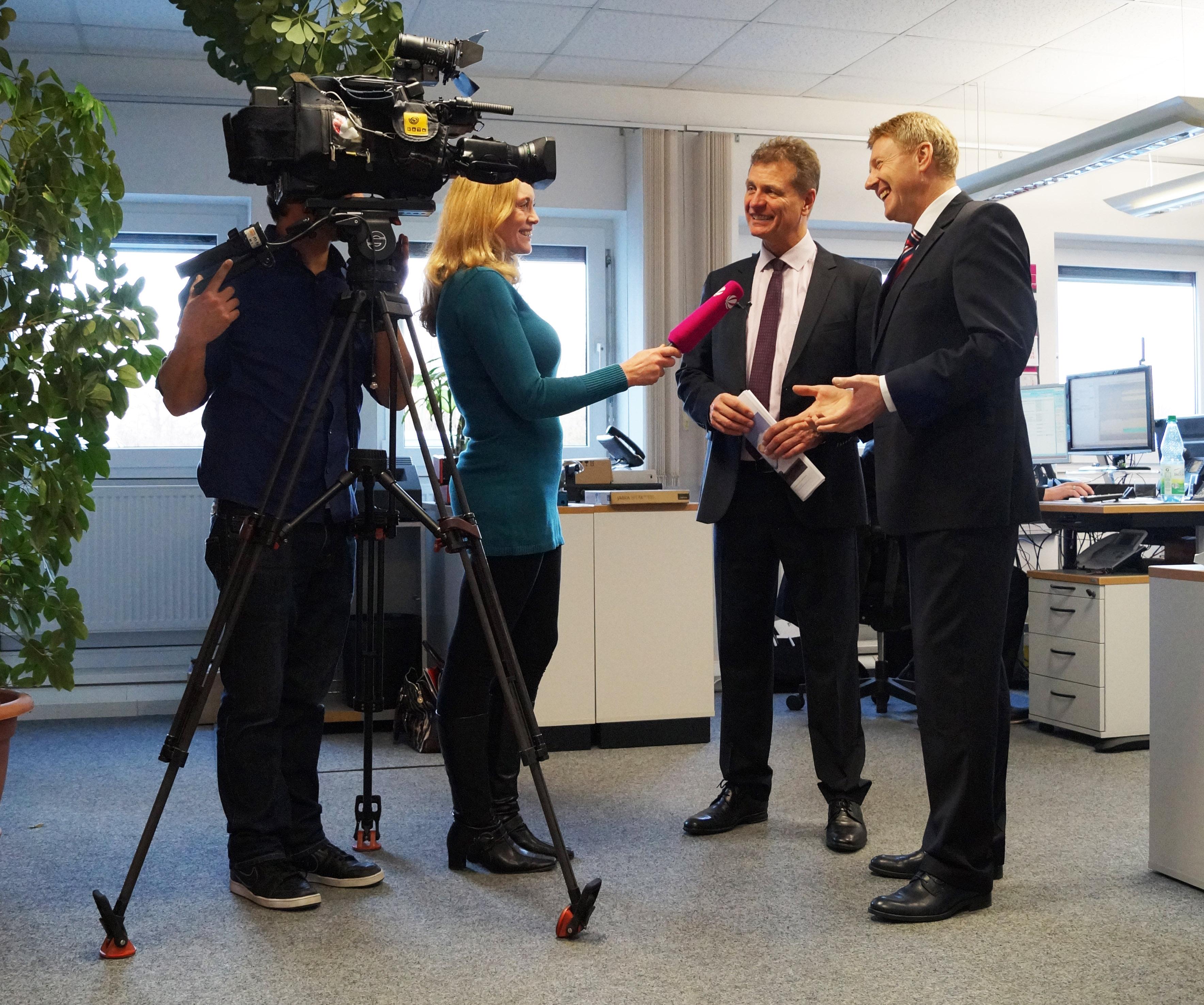 Interview mit den beiden Geschäftsführern Gerhard Förtsch und Herbert Müller